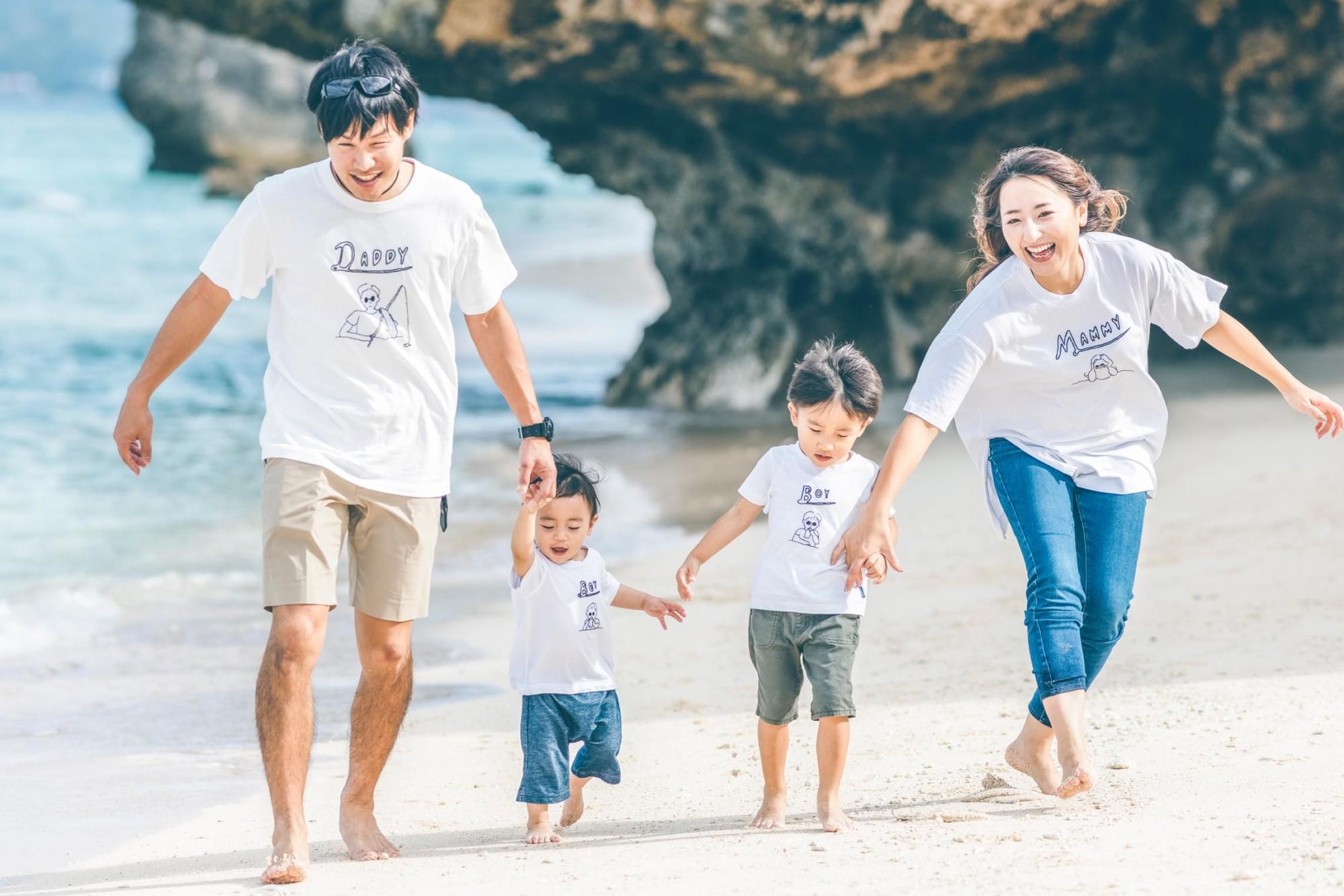 あなたの大切なご家族との絆を写します。「家族の宝物」になると幸いです。