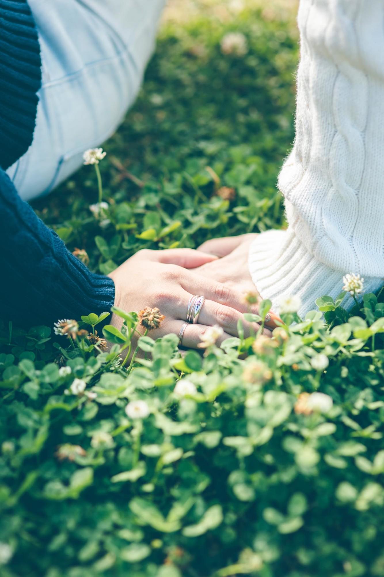 デートやプロポーズの風景を撮影